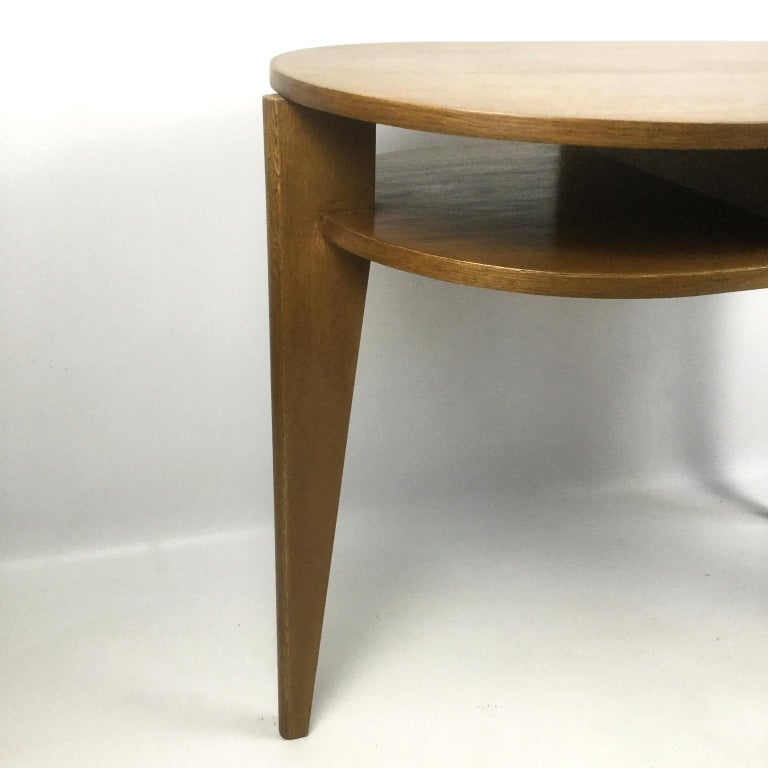 Mid-20th Century Tripod Desk Attributed to Jacques Adnet 1950s