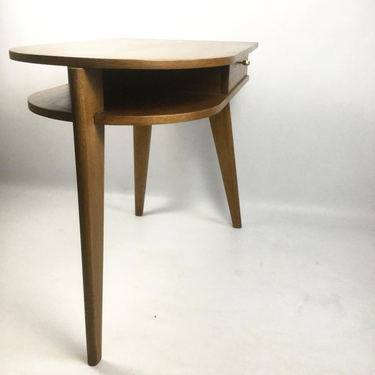 Tripod Desk Attributed to Jacques Adnet 1950s 1