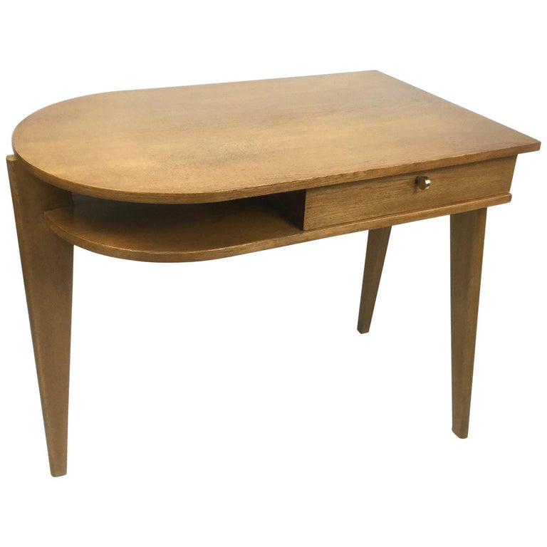 Tripod Desk Attributed to Jacques Adnet 1950s