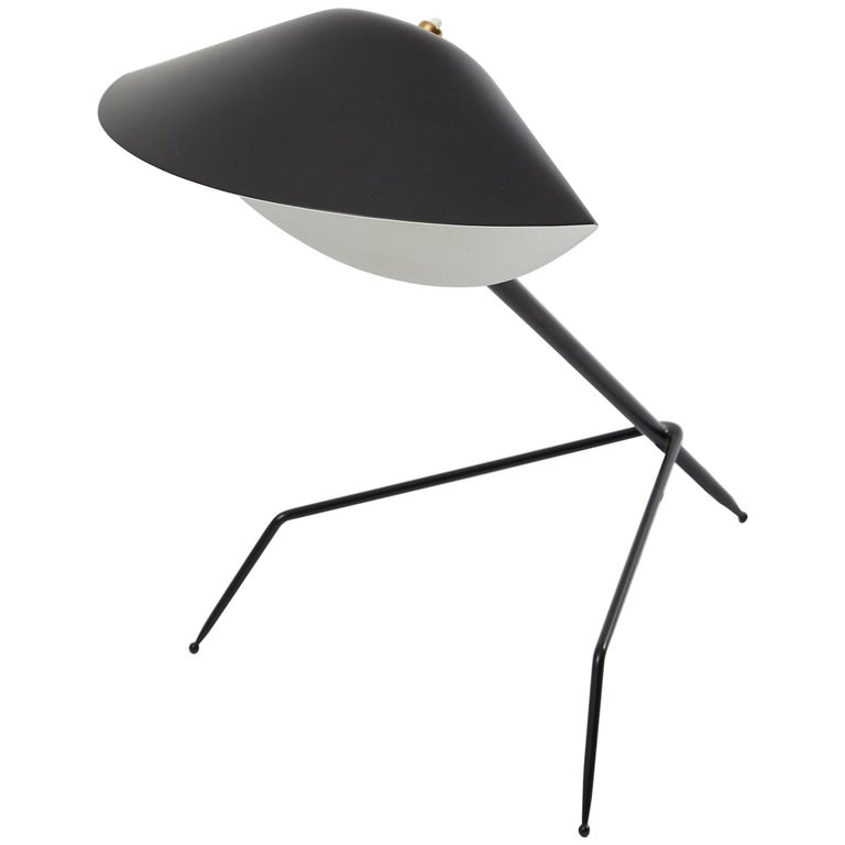 'Tripod' Desk Lamp by Serge Mouille For Sale