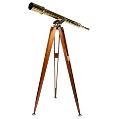 Tripod Mounted Telescope by Broadhurst, Clarkson & Co, circa 1915