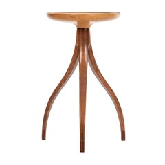 Tripod Plant Pedestal Table in the Style of Edward Wormley