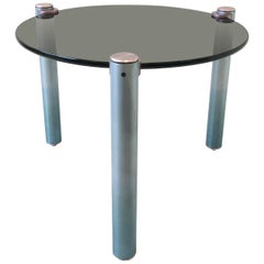 Tripod Postmodern Side Table