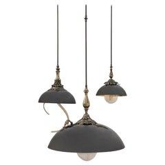 Triptico Suspension Lamp Small