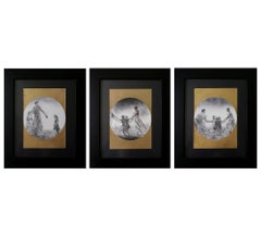 """Triptych from """"The Series Danzar"""""""