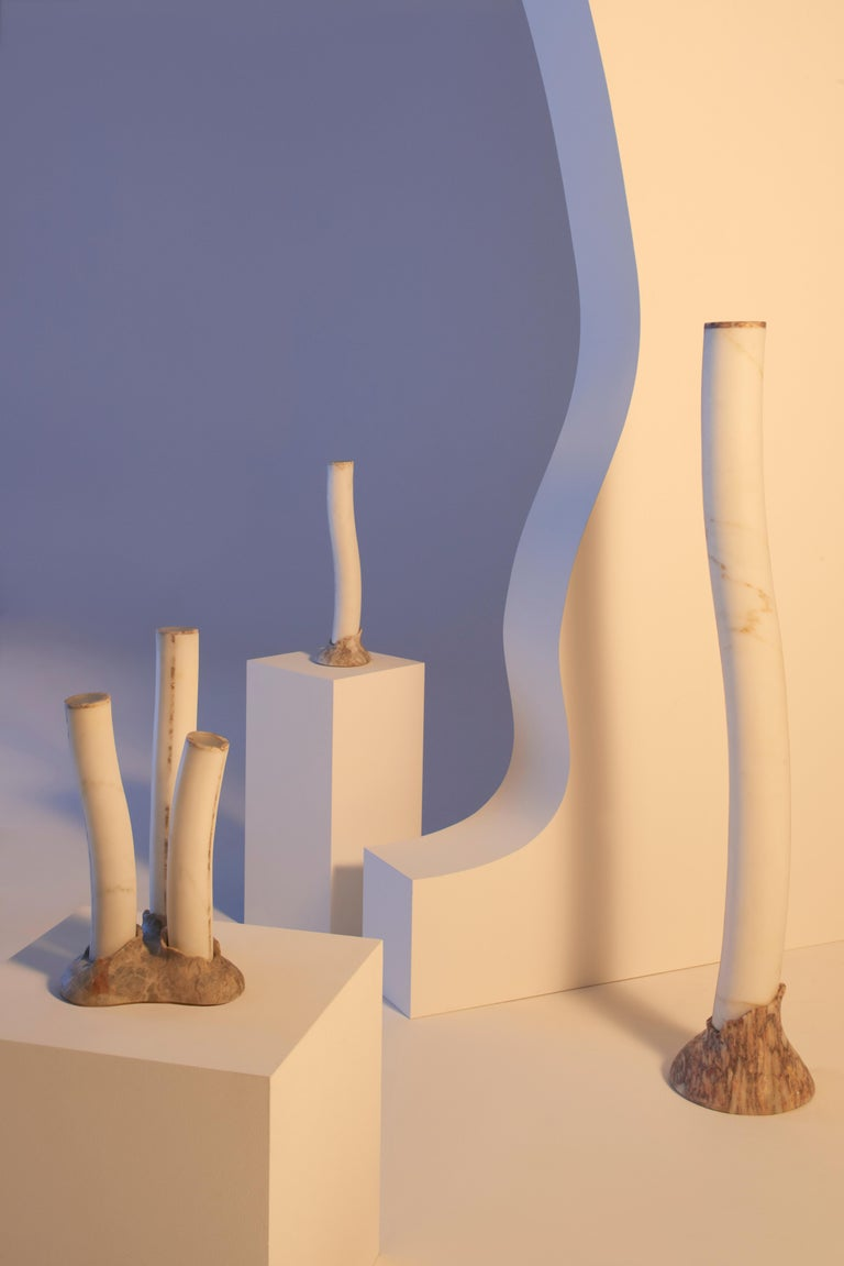 Modern Reef, Table Lamp in Marble, by Jacopo Simonetti Made in Italy For Sale