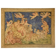 """Triumph of Bacchus and Ariadne"" after Annibale Carracci's Model"