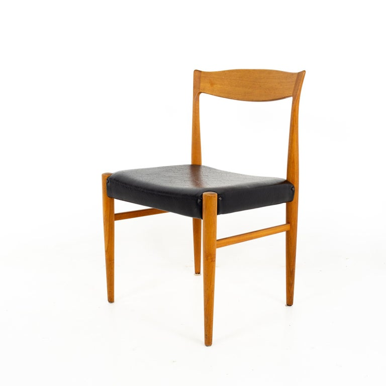 Troeds Bjarnum mid century teak dining chair Chair measures: 20 wide x 18 deep x 31 high, with a seat height of 18 inches  All pieces of furniture can be had in what we call restored vintage condition. That means the piece is restored upon