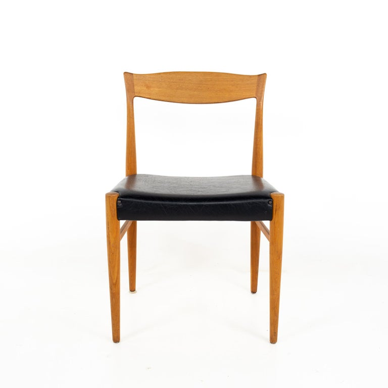Mid-Century Modern Troeds Bjarnum Mid Century Teak Dining Chair For Sale
