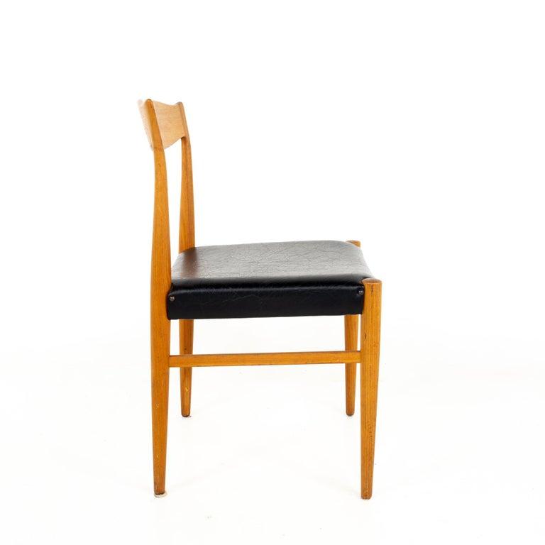 Danish Troeds Bjarnum Mid Century Teak Dining Chair For Sale
