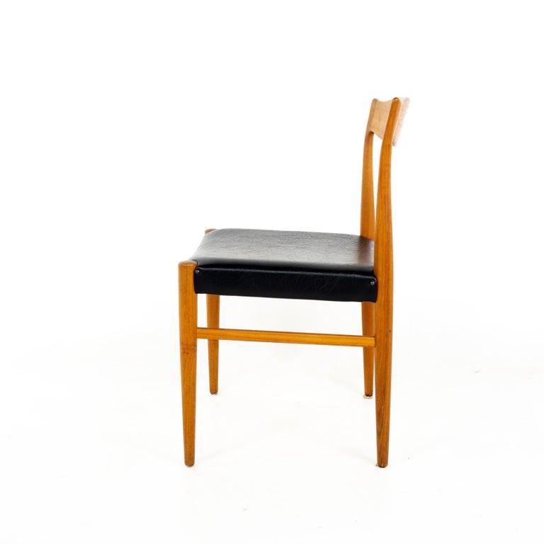Troeds Bjarnum Mid Century Teak Dining Chair In Good Condition For Sale In La Grange, IL