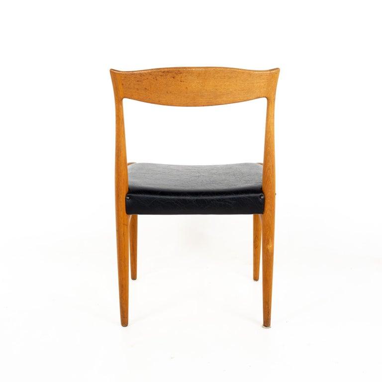 Late 20th Century Troeds Bjarnum Mid Century Teak Dining Chair For Sale