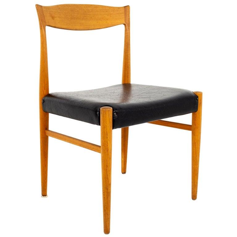 Troeds Bjarnum Mid Century Teak Dining Chair For Sale