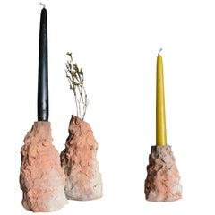 Troglometry, Set of Unique Organic Vases, Aurore