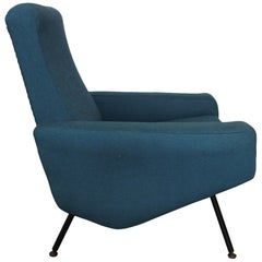 Troika Lounge Chair by Pierre Guariche & Airborne, France, 1950s