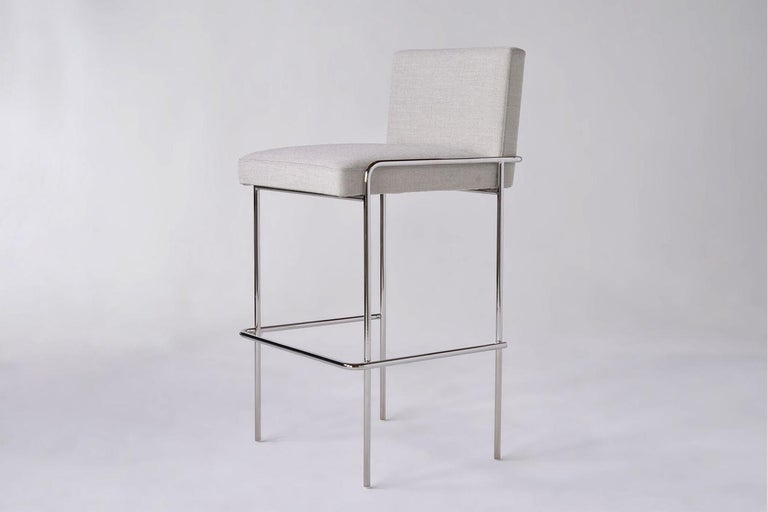 Modern Trolley Bar and Counter Stool For Sale