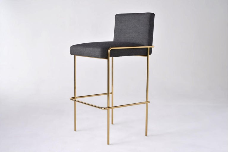 Trolley Bar and Counter Stool In New Condition For Sale In Los Angeles, CA