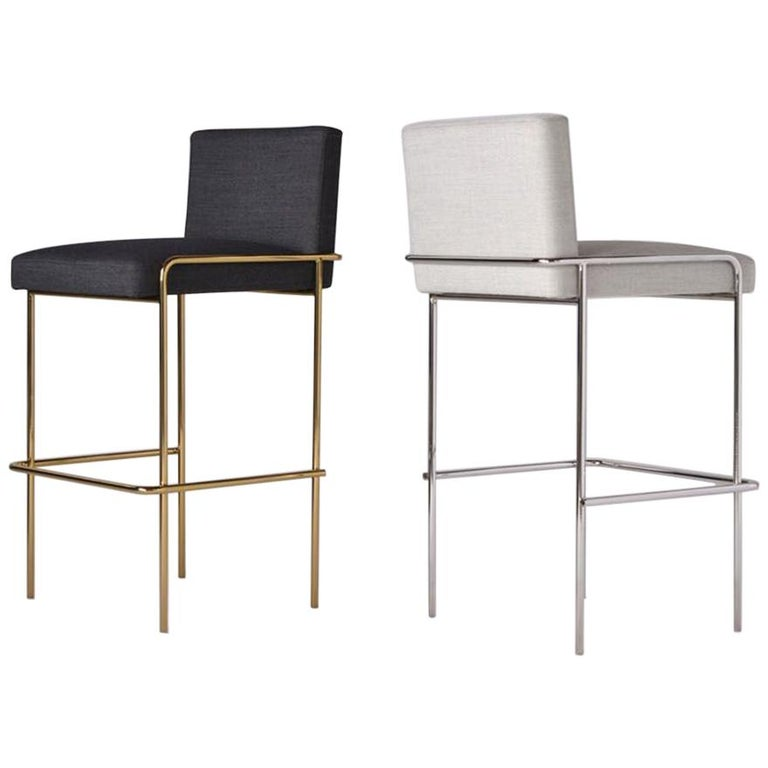 Trolley Bar and Counter Stool For Sale