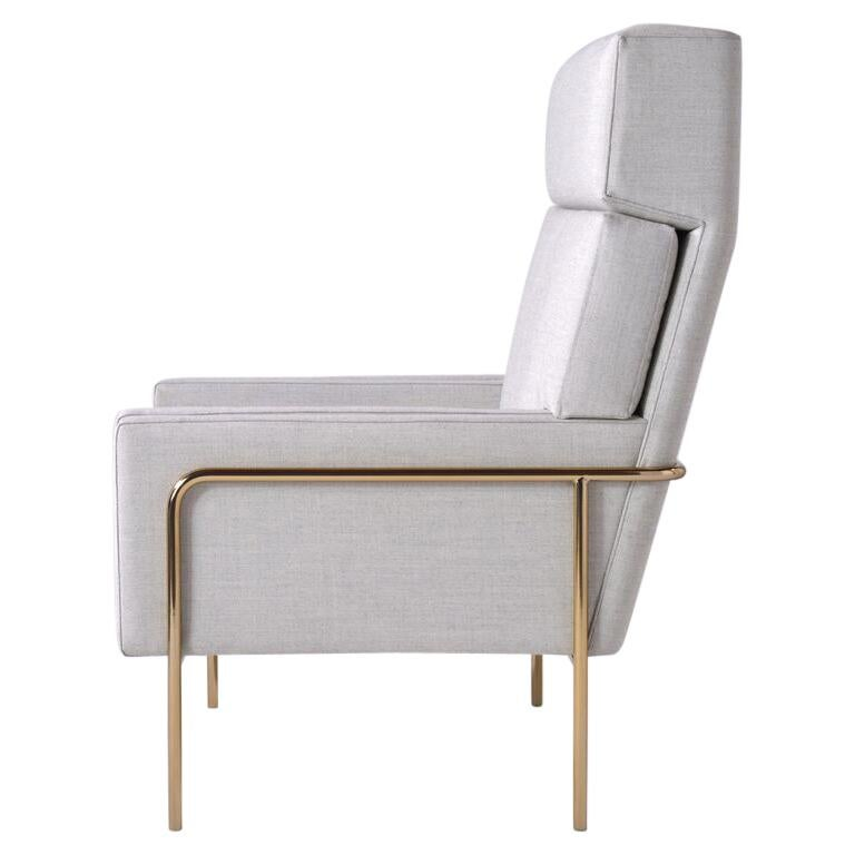 Trolley High Back Lounge Chair For Sale