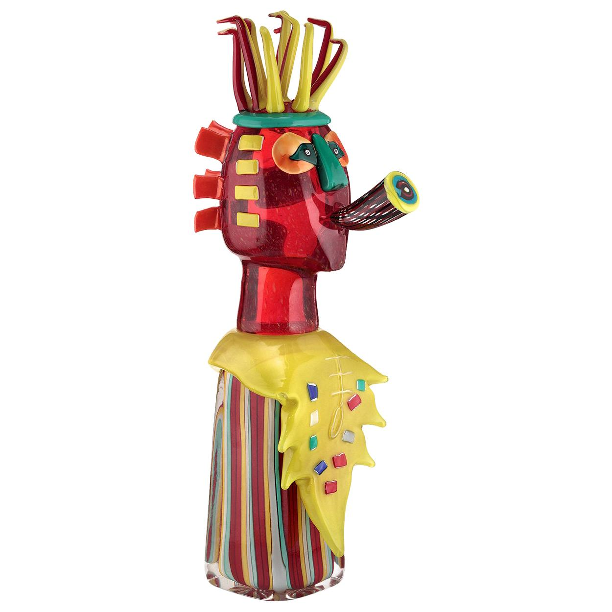 Trompetista Sculpture by Alfredo Sosabravo Limited Edition