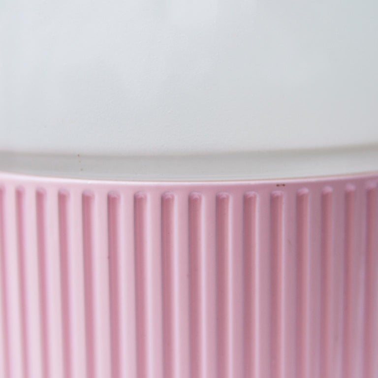 Tronconi Pink Table Lamps, Italy, 1983 Set of 2 In Good Condition For Sale In Munich, DE