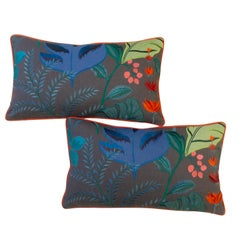 Tropical Flora Lumbar Pillows