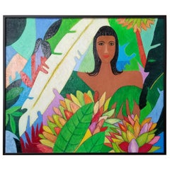 Tropical Painting by Kai Kingsley