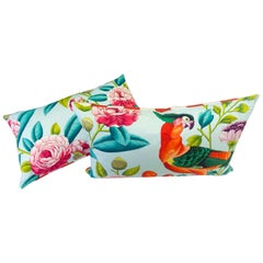 Tropical Paradise Reversible Lumbar Pillows