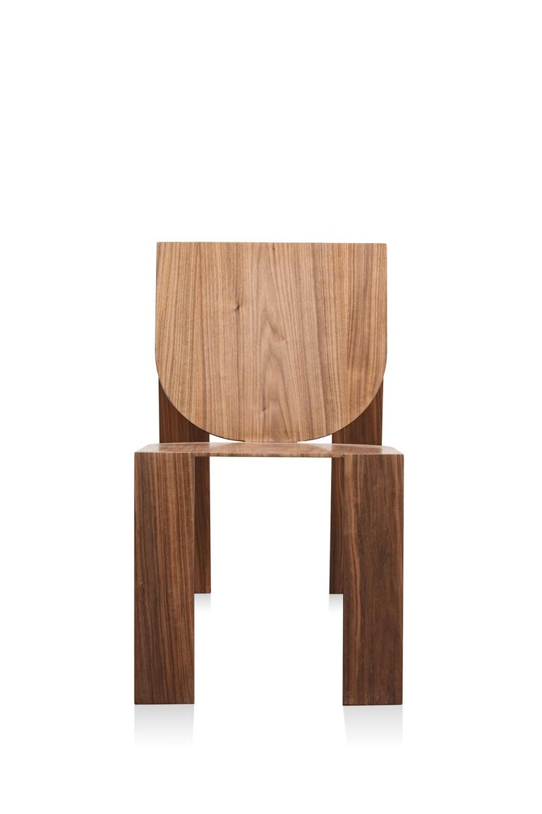 Tropos Chair, CONTEMPORARY WOOD SHEET AND METAL CHAIR For Sale 1