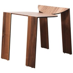 Tropos Stool, CONTEMPORARY WOOD SHEET AND METAL STOOL