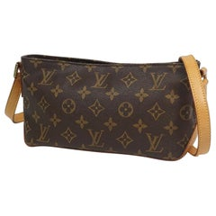 Trotteur  Womens  shoulder bag M51240 Leather