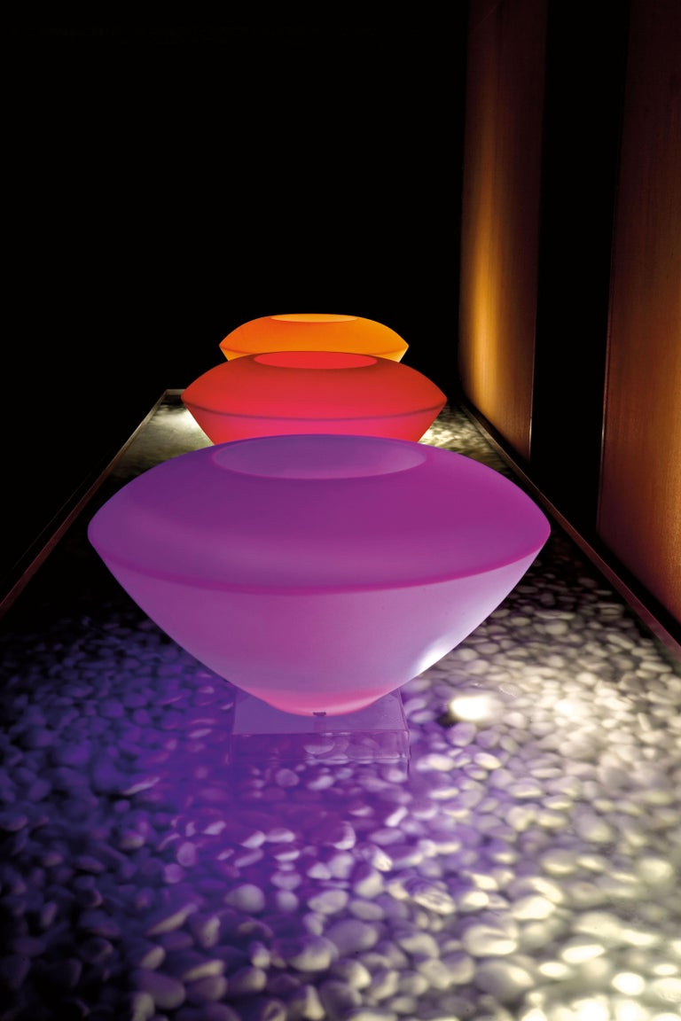 Molded Trotty Lamp, LDPE, Led RGB Kit, Indoor/Outdoor, Italy For Sale