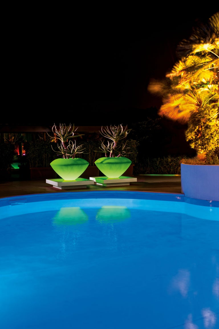 Trotty Lamp, LDPE, Led RGB Kit, Indoor/Outdoor, Italy In New Condition For Sale In Quinto di Treviso, Treviso
