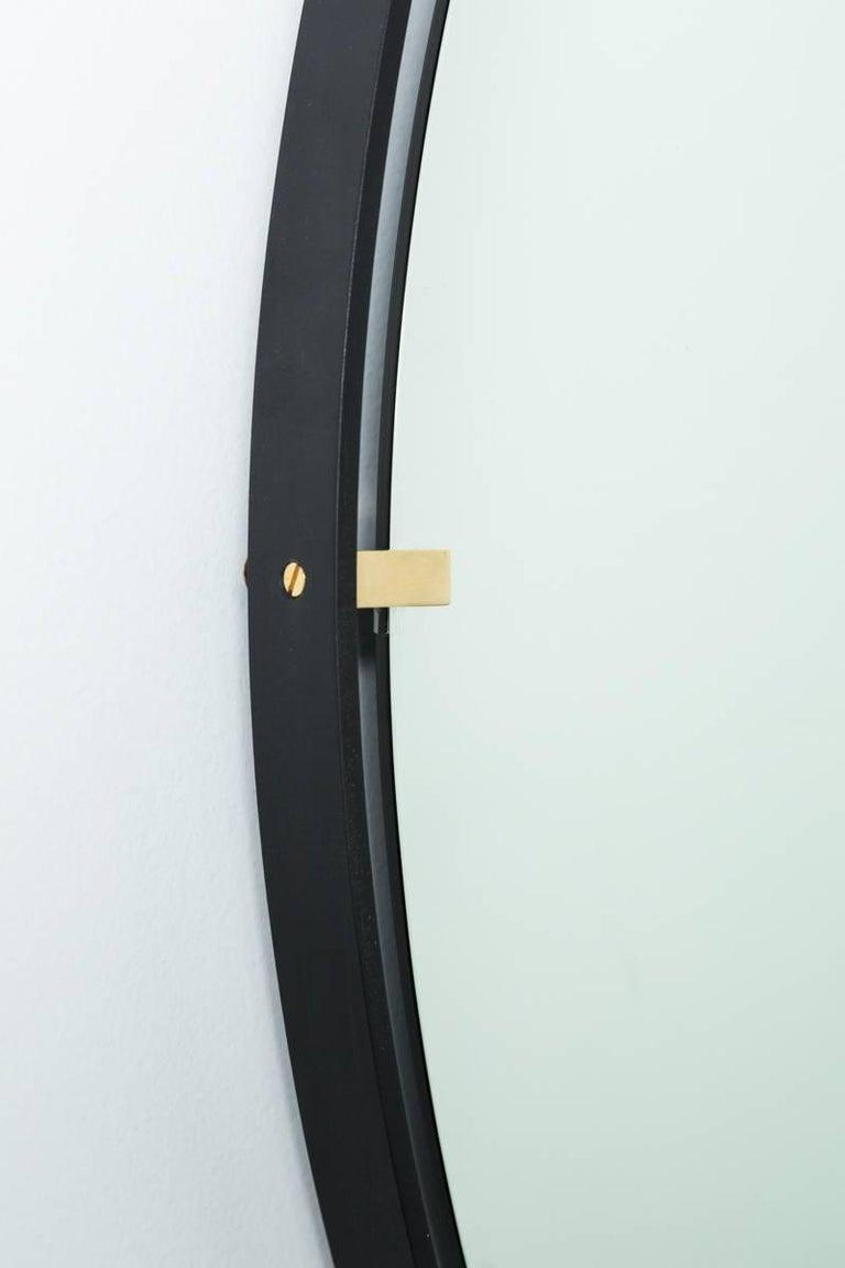 American Trousdale Circular Floating Mirror by Orange Los Angeles - 36
