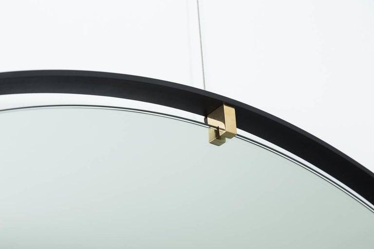 Trousdale Circular Floating Mirror by Orange Los Angeles - 36