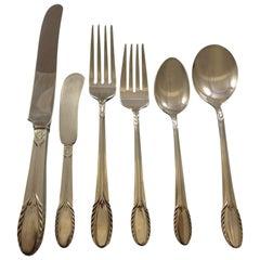 Trousseau by International Sterling Silver Flatware Set Service 36 Pieces