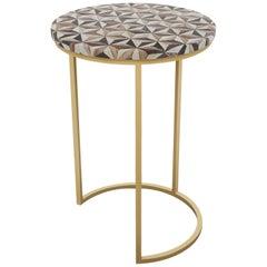 Troy Table, Half Moon
