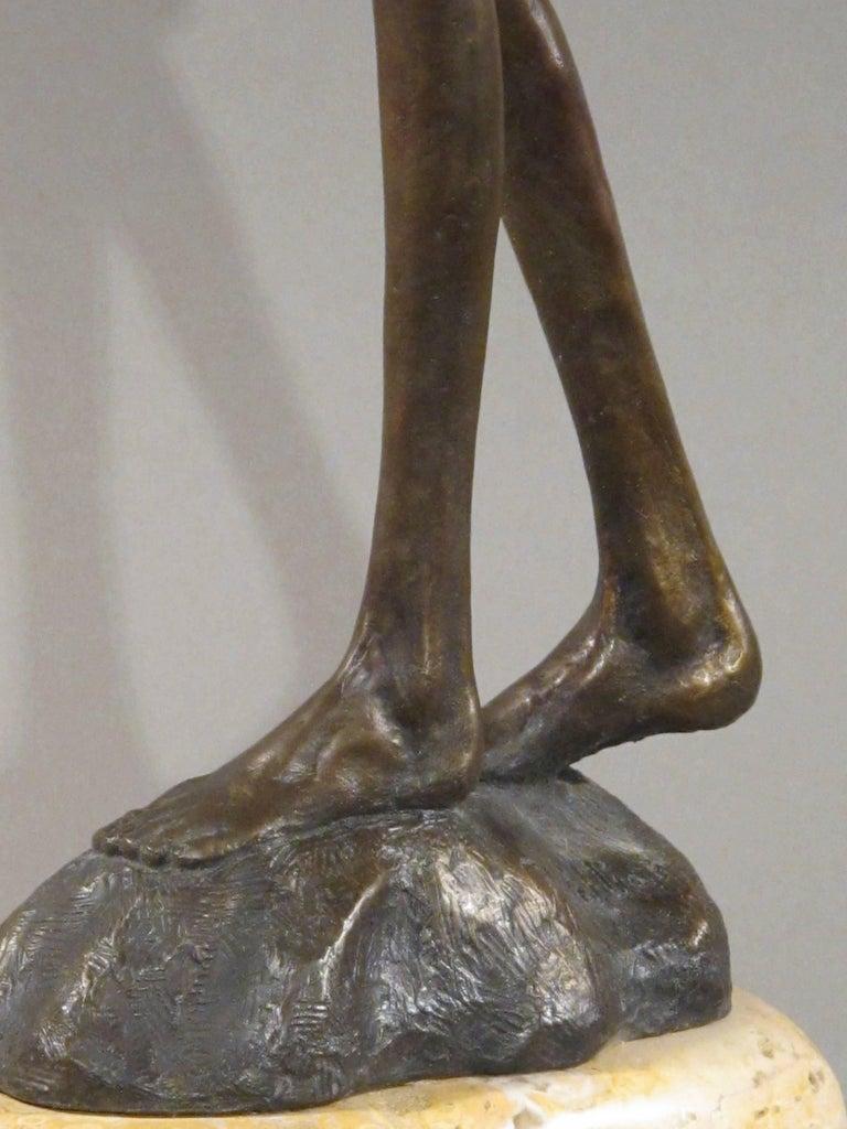 First Bite,female figure holding apple,garden of eden,bronze sculpture Williams For Sale 6