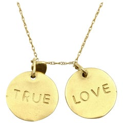 """True Love"" Pendant Necklace"