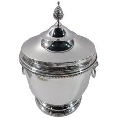 Truman-Era American Classical Sterling Silver Ice Bucket by Tuttle