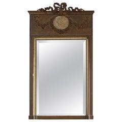 Trumeau Mirror Anges Louis XVI End XIX