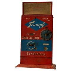 Trumpf Ball Machine, Lottery Machine, Early 20th Century