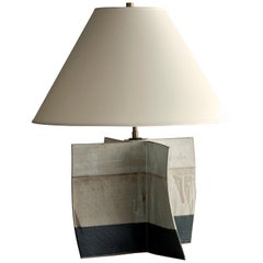 Truro Lamp, Ceramic Sculptural Table Lamp by Dumais Made