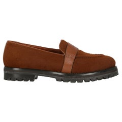 Trussardi Woman Loafers Brown Leather IT 38