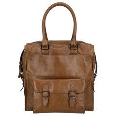 Trussardi Woman Shoulder bag  Camel Color Leather