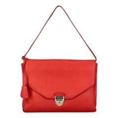 Trussardi Woman Shoulder bag Red Leather