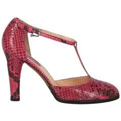 Trussardi Women  Pumps Pink Leather IT 38.5