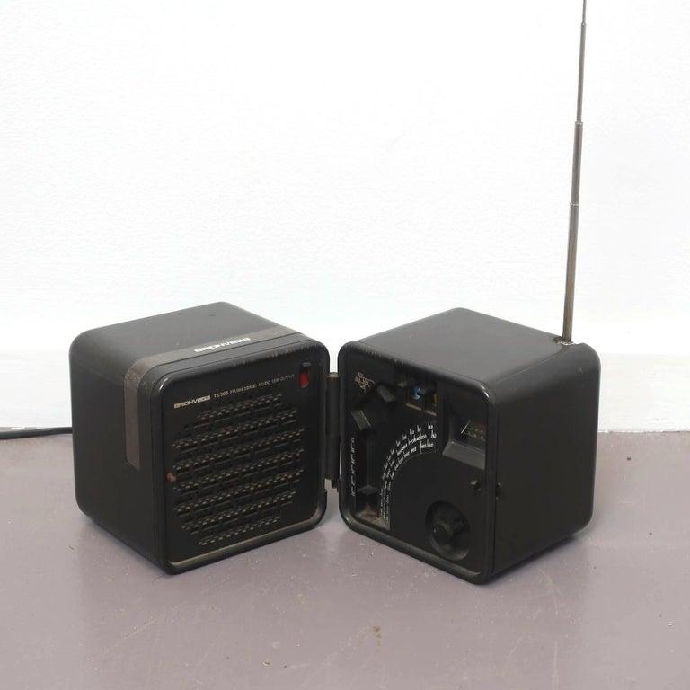Late 20th Century TS 505 Cube Radio by Marco Zanuso & Richard Sapper for Brionvega, 1976 For Sale