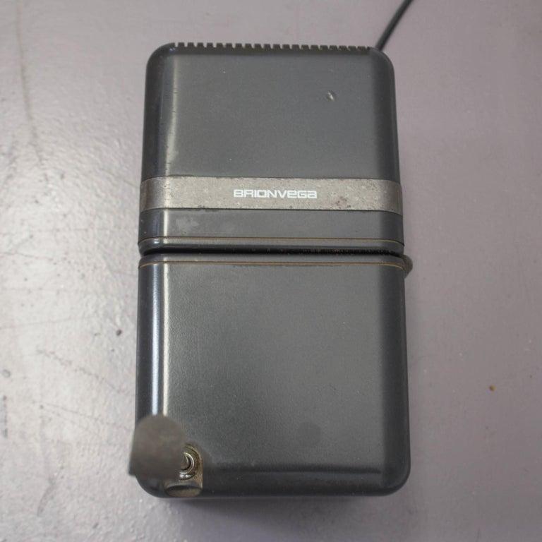 Metal TS 505 Cube Radio by Marco Zanuso & Richard Sapper for Brionvega, 1976 For Sale