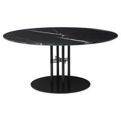 TS Column Lounge Table, Round, Black Base, Large, Laminate